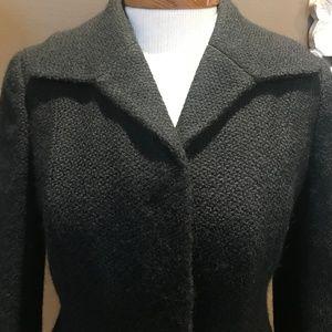 Ann Taylor Jacket 100% Wool 3/4 Sleeves